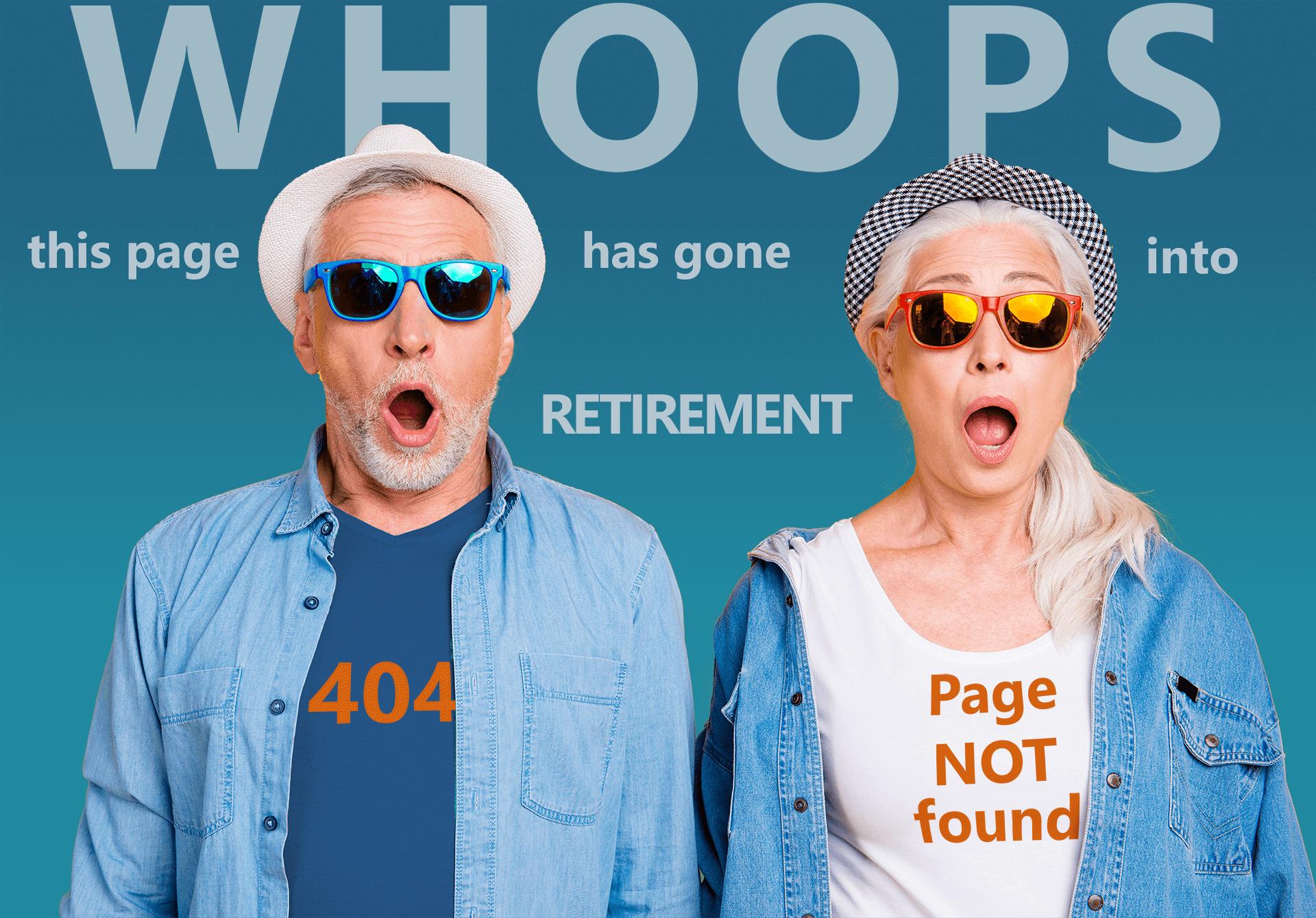Error 404 Page Not Found